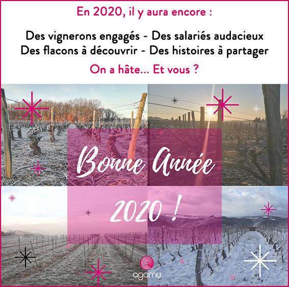 Agamy vous souhaite une bonne année 2020